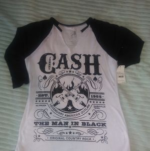 Zion  V- neck T- shirt